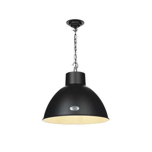 Utility 1 Light Pendant Black UTI0122 (Hand made, 7-10 day Delivery)